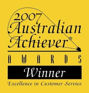 2007 Australian Achiever Award