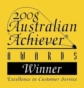 2008 Australian Achiever Award