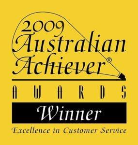 2009 Australian Achiever Award